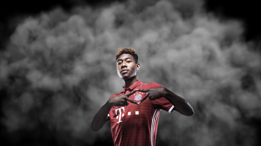 Video content Bayern München speler David Alaba
