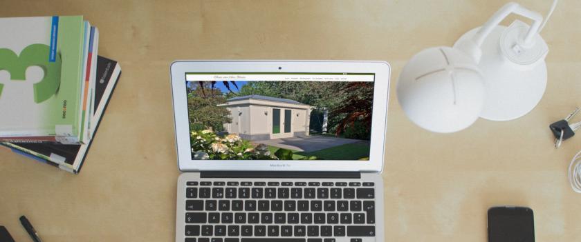 Nieuwe huisstijl en website Elmer van Veen Tuinen